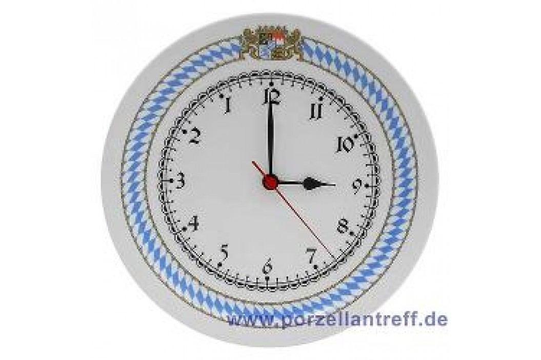 Seltmann Weiden Compact Bavaria Wall Clock - goes backwards! 24 cm Service & Geschirrsets