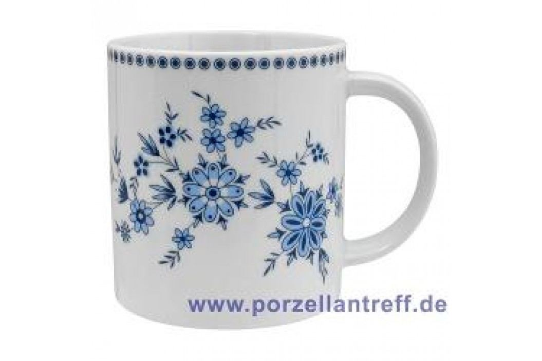 Seltmann Weiden Doris Bavarian Blue Mug with Handle 0.40 L Service & Geschirrsets