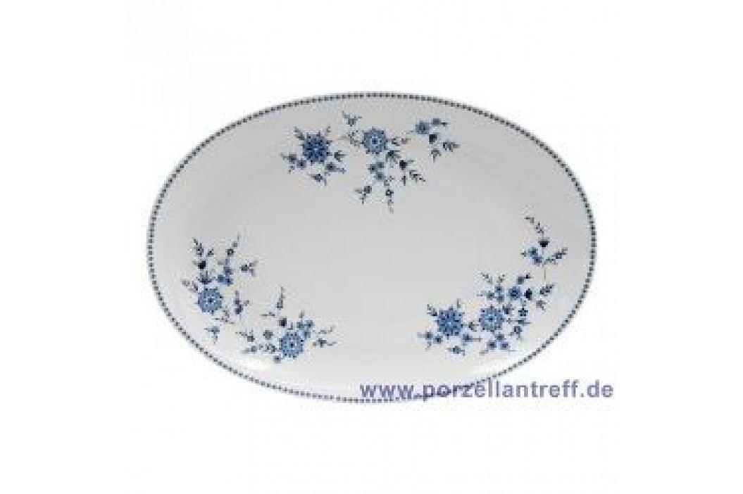 Seltmann Weiden Doris Bavarian Blue Oval Platter 35 cm Service & Geschirrsets