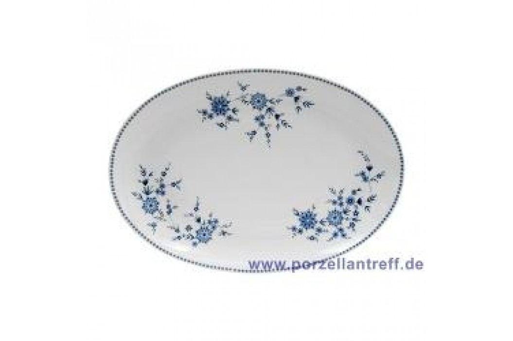 Seltmann Weiden Doris Bavarian Blue Oval Platter 31 cm Service & Geschirrsets