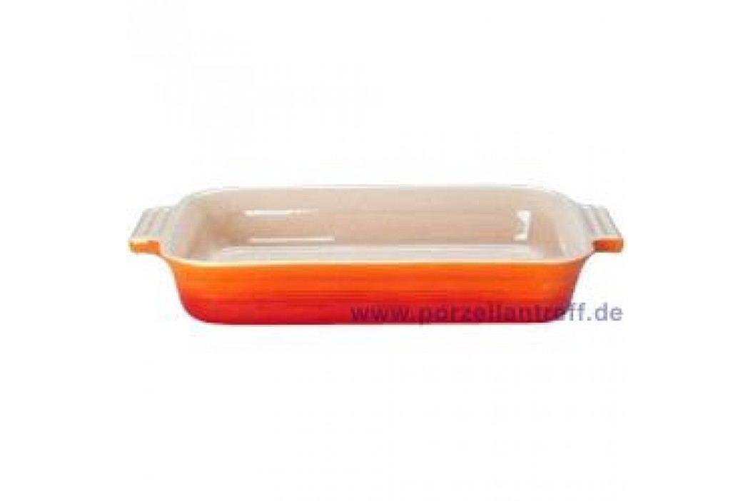 Le Creuset Poterie Baking dishes Casserole Rectangular 13 x 19 cm, oven red Service & Geschirrsets