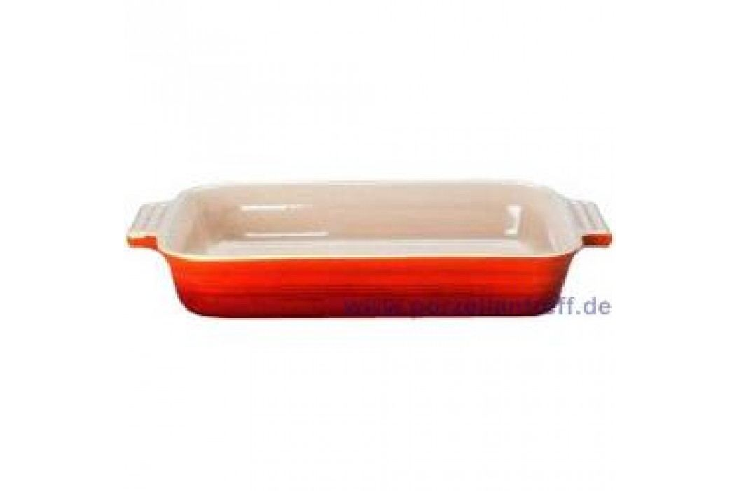 Le Creuset Poterie Baking dishes Casserole Rectangular 17 x 26 cm, cherry red Service & Geschirrsets