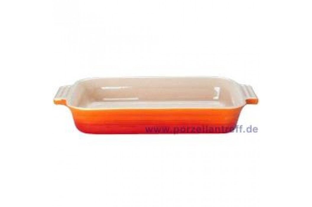 Le Creuset Poterie Baking dishes Casserole Rectangular 17 x 26 cm, oven red Service & Geschirrsets