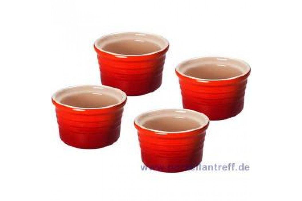 Le Creuset Poterie Ramekins Ramekins Set (4 pcs) 8.0 cm, cherry red Service & Geschirrsets