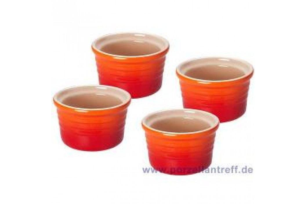 Le Creuset Poterie Ramekins Ramekins Set (4 Pcs) 8.0 cm, oven red Service & Geschirrsets