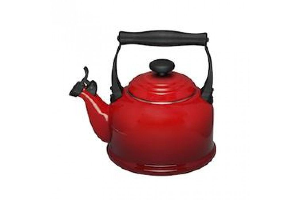 Le Creuset Kettle Kettle / Boiler Tradition with Whistle 2.10 L cherry red Service & Geschirrsets