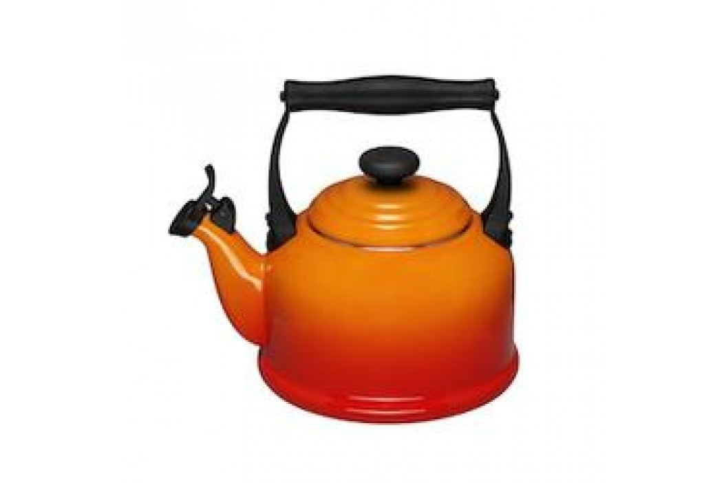 Le Creuset Kettle Kettle / Boiler Tradition with Whistle 2.10 L oven red Service & Geschirrsets