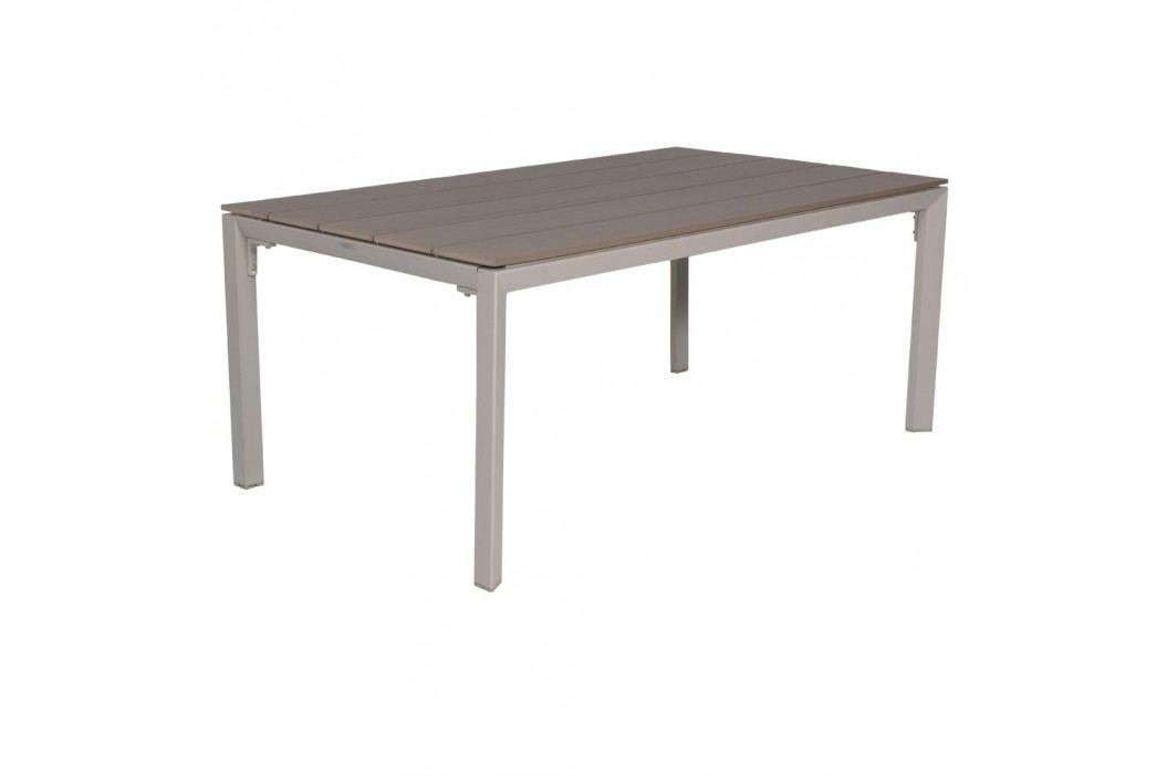 Outliv Salsa Gartentisch 180x100 Cm Aluminium Polywood Sand Kubu