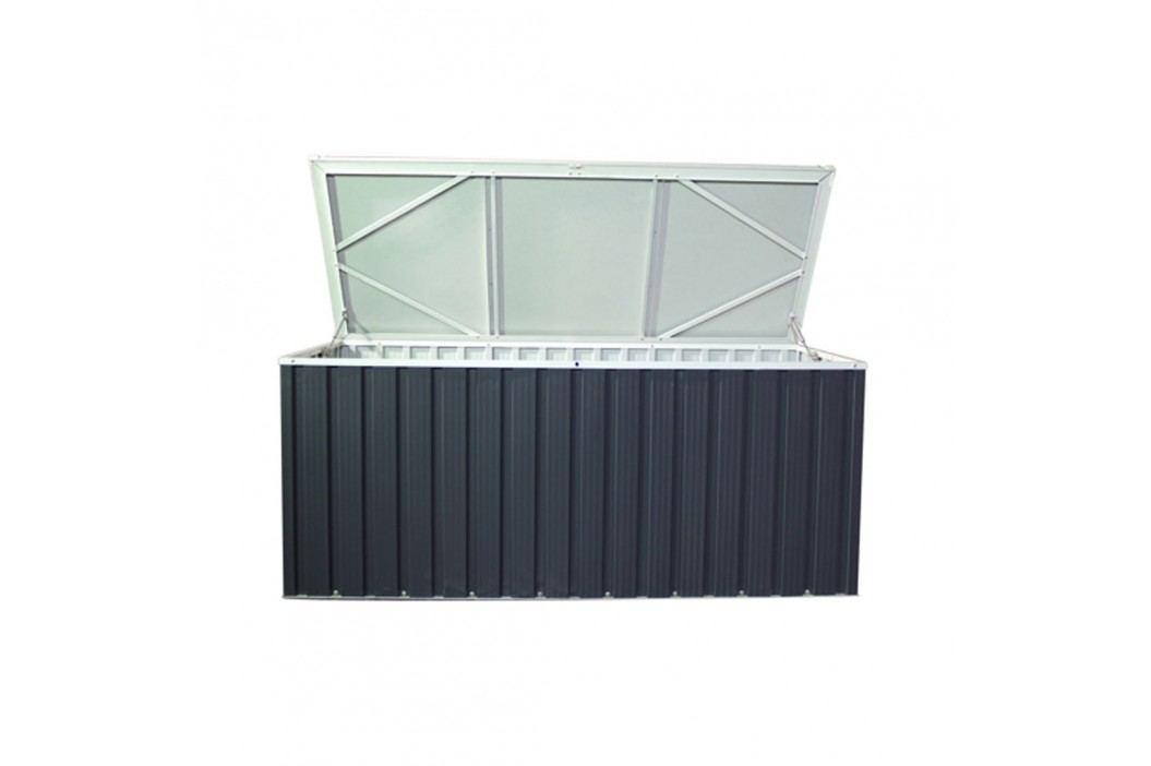tepro Metall-Gerätebox 170x70 cm Anthrazit Gartenmöbel