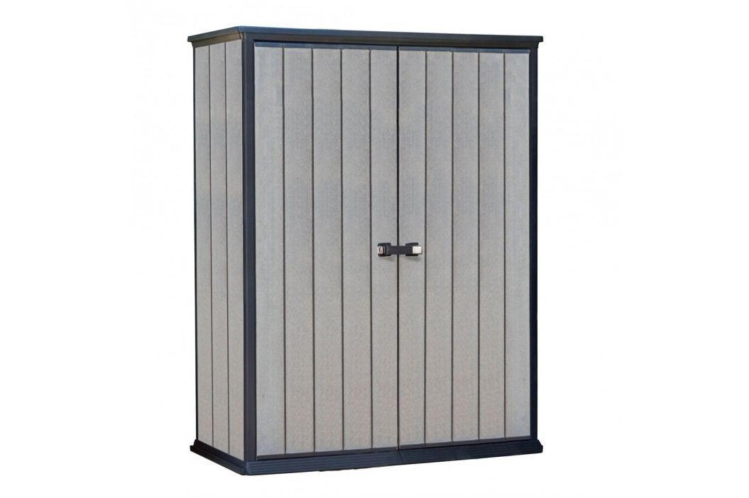tepro High Store Aufbewahrungsschrank 1500L Holzoptik Gartenmöbel