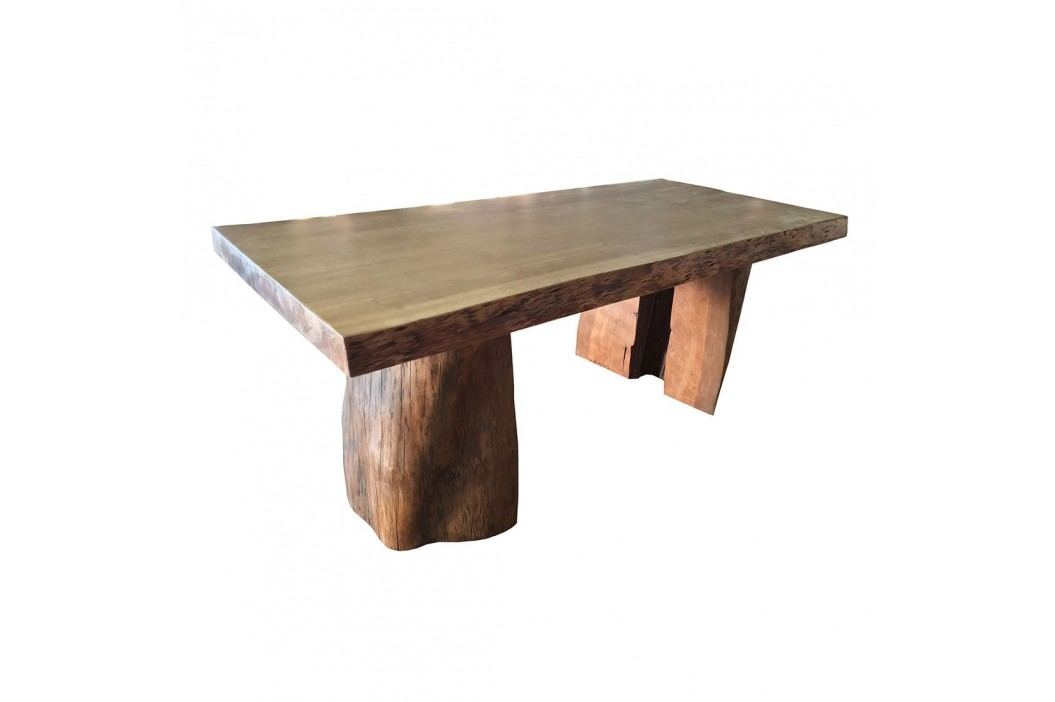 Outliv Rustic Tisch 200x90 100cm Balau Holz Teaklook Guter Preis