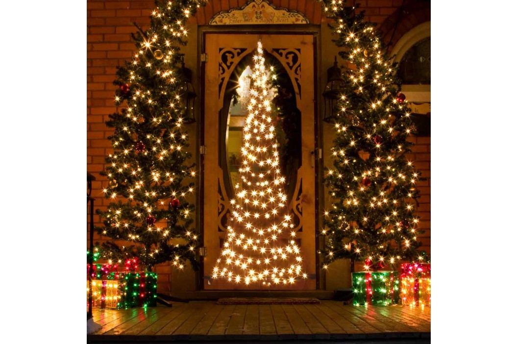 Fairybell LED Tür-Weihnachtsbaum 210cm 240 LEDs Weihnachten