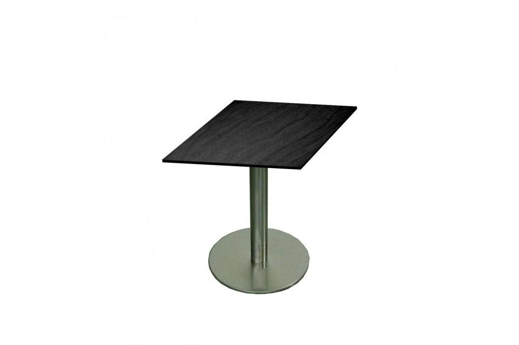 SIT Bistrotisch 80x80 Edelstahl/HPL Dark Grey Gartentische