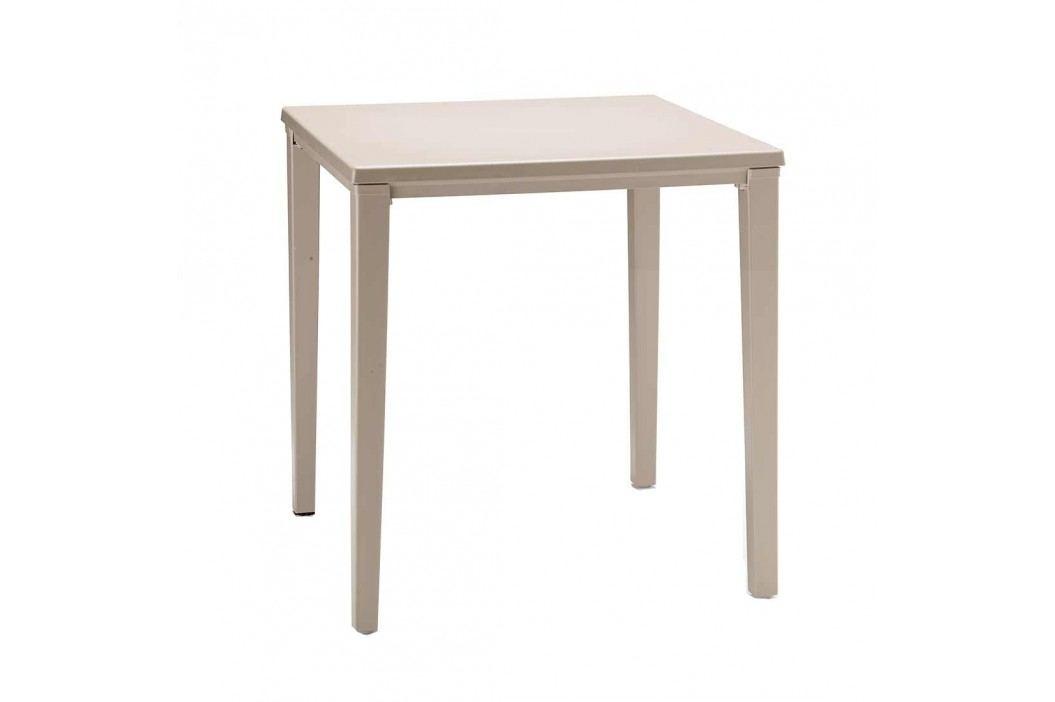 Scab Design Timo Gartentisch 80x80 cm Aluminium/Kunststoff Dove Grey Gartentische