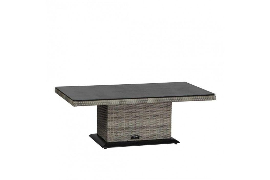 Siena Garden Navaro Lifttisch 130x75x41cm Aluminium Sigra Gartentische