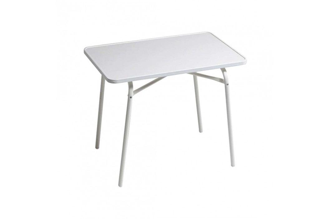 Alco Kindertisch 60x40cm Stahl Weiß Gartentische