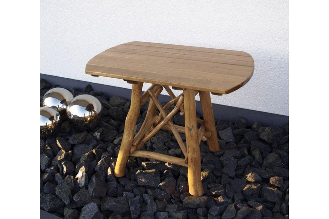Gartentisch 70 X 100 Cm Eiche/ Buche Frg - Handels Gmbh Mosel Holz Neutral Gartentische