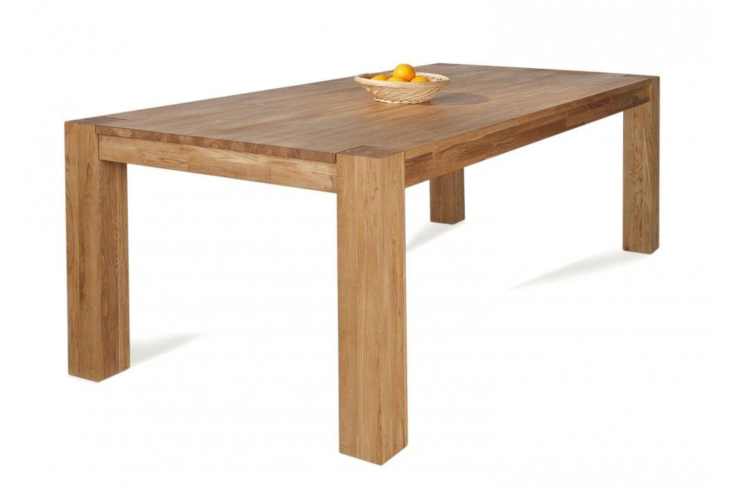 Esstisch 220 X 105 Cm Wildeiche Geölt Massiv Sit-Möbel Zeus Holz Modern Esstische
