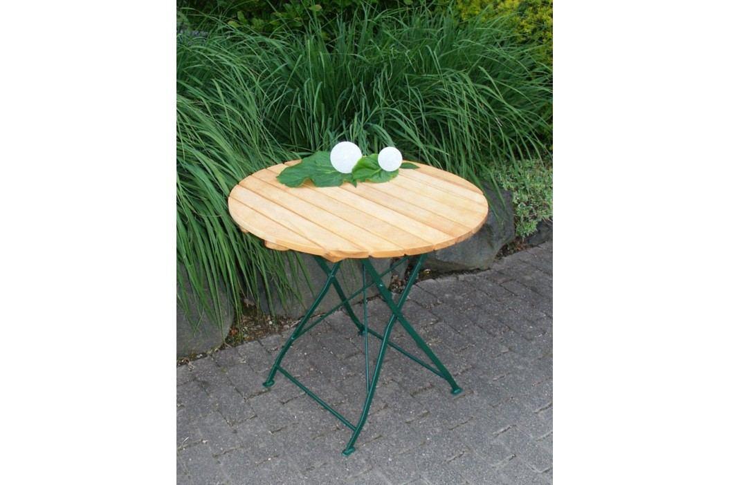 Gartentisch Rund Natur/ Grün Frg - Handels Gmbh Bad Tölz Holz Modern Gartentische