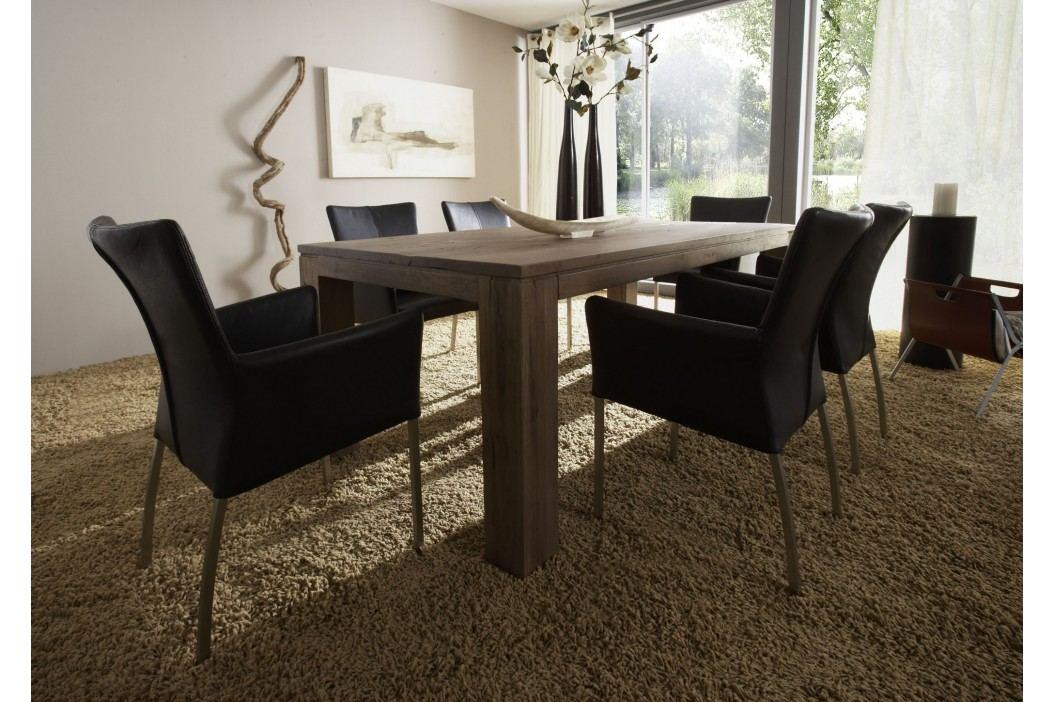 Esstisch In Massiver Balkeneiche Auf Räucheröl Behandelt 200 X 100 Cm Sit-Möbel Samson Holz Modern Esstische