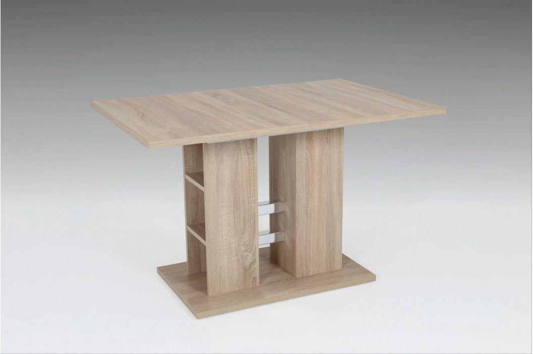 Säulentisch Ausziehbar Sonoma Eiche Nachbildung Hela Steffi T Modern Esstische