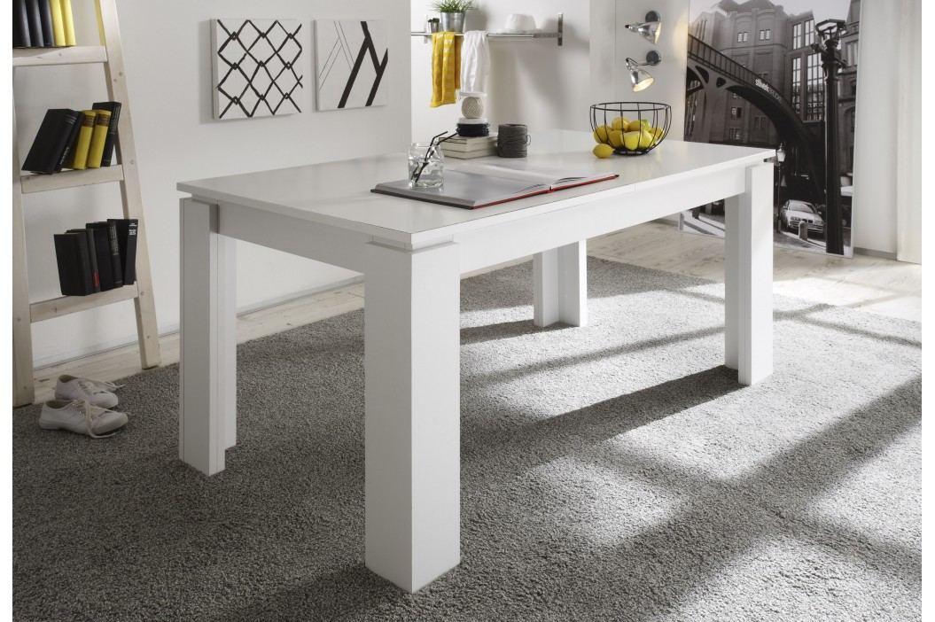 Esstisch 160 X 90 Cm Ausziehbar Weiss Trendteam Universal Weiß Holz Modern Esstische