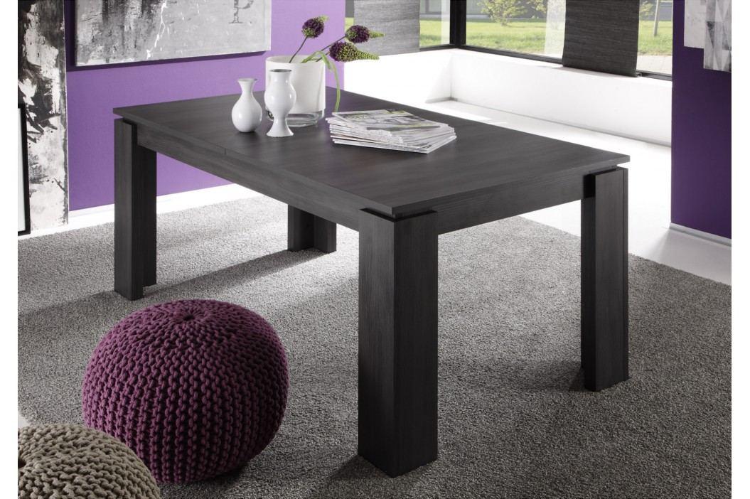Esstisch 160 X 90 Cm Ausziehbar Esche Grau Trendteam Universal Holz Modern Esstische