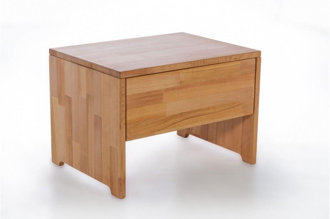 Nachtkommode Kernbuche Massiv Geölt Natur Vs-Furniture Holz Modern Nachttische