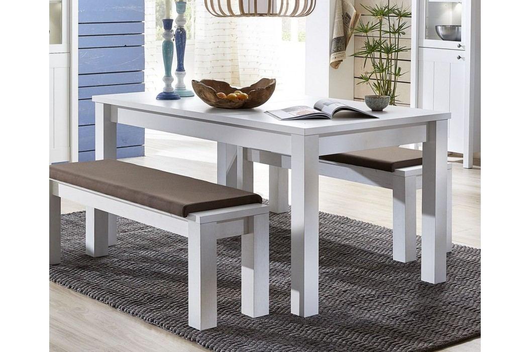 Esstisch In Weiss Mit Ausziehfunktion Innostyle Siena Weiß Holz Modern Esstische