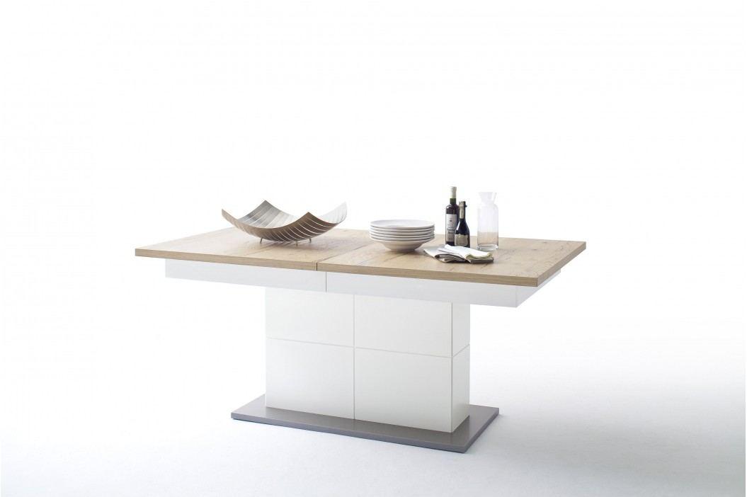 Esstisch 180 X 100 Cm Crackeiche/ Weiss Matt Mca-Furniture Azzin Holz Modern Esstische