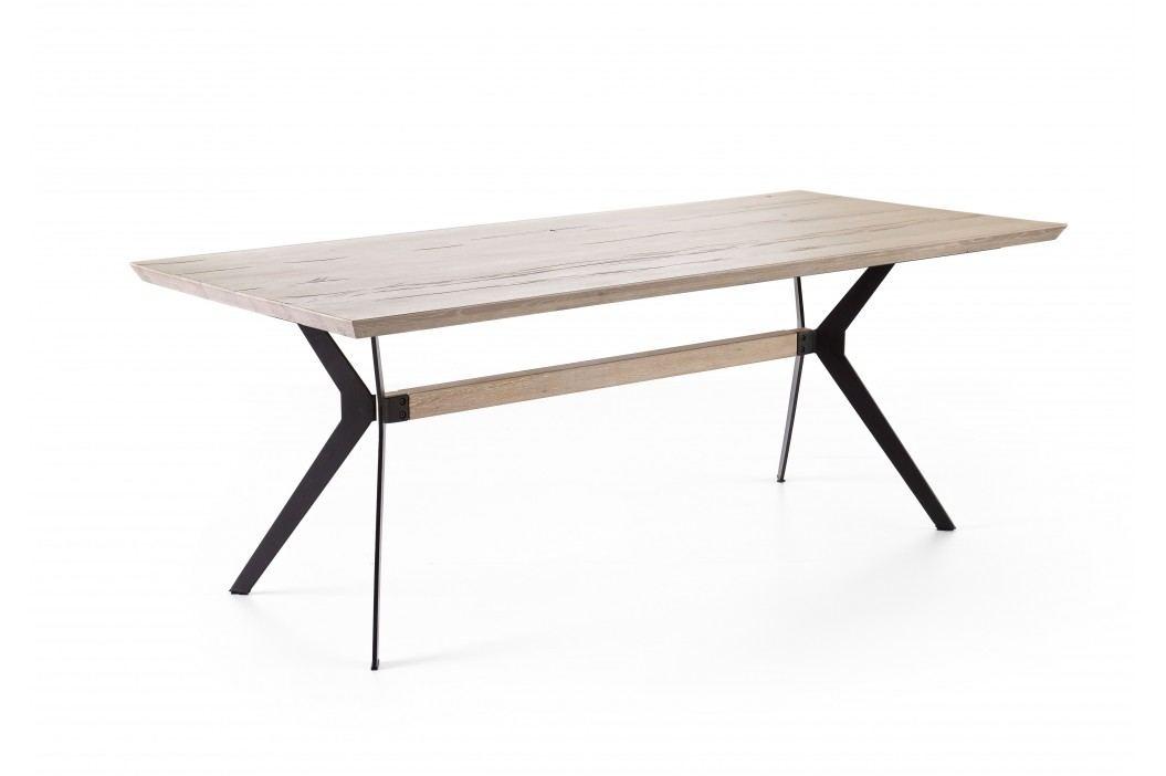 Esstisch 200 X 100 Cm Eiche Gekälkt Massiv Mca-Furniture Otik Holz Modern Esstische