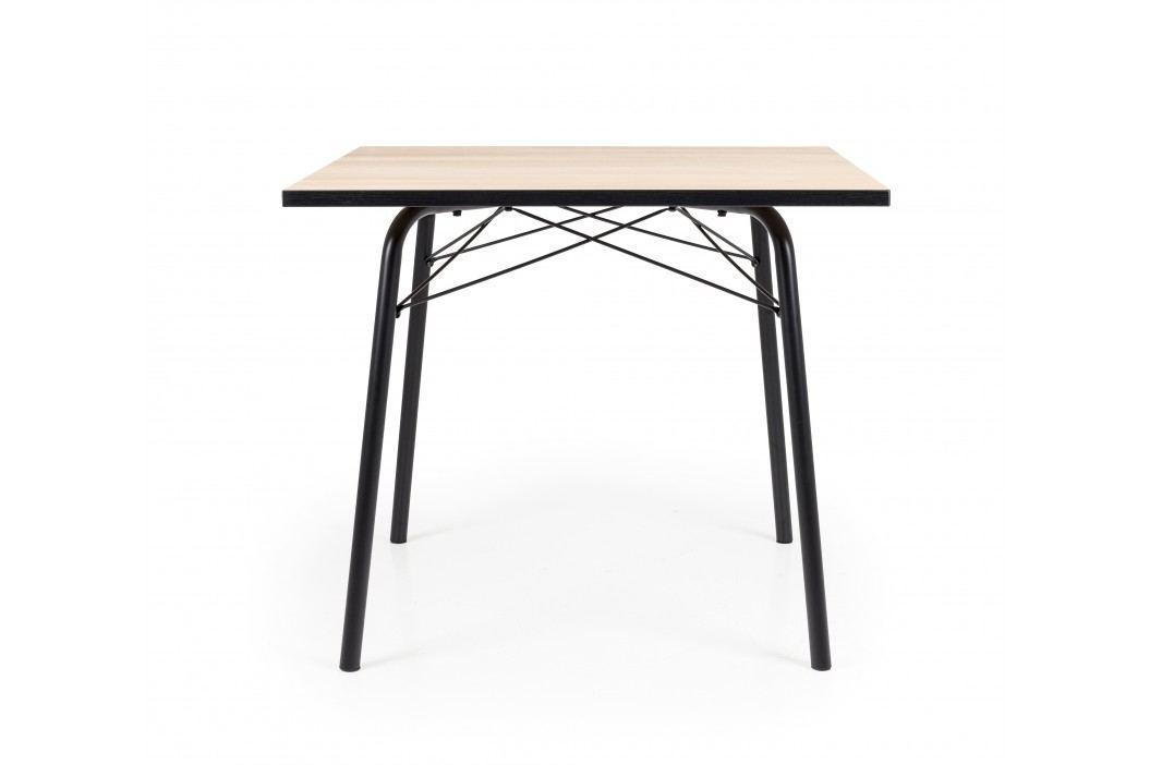 Tisch Eiche/ Schwarz 90*90 Tenzo Wolf Holz Modern Esstische