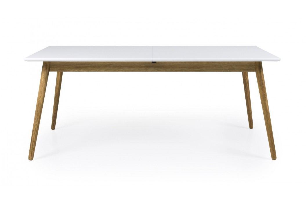 Tisch Weiss/ Eiche 160/205x90 Cm Tenzo Tod Weiß/ Eiche Holz Modern Esstische