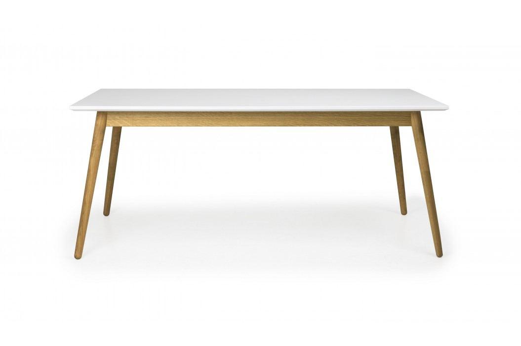 Tisch Weiss/ Eiche 180x90 Cm Tenzo Tod Weiß/ Eiche Holz Modern Esstische
