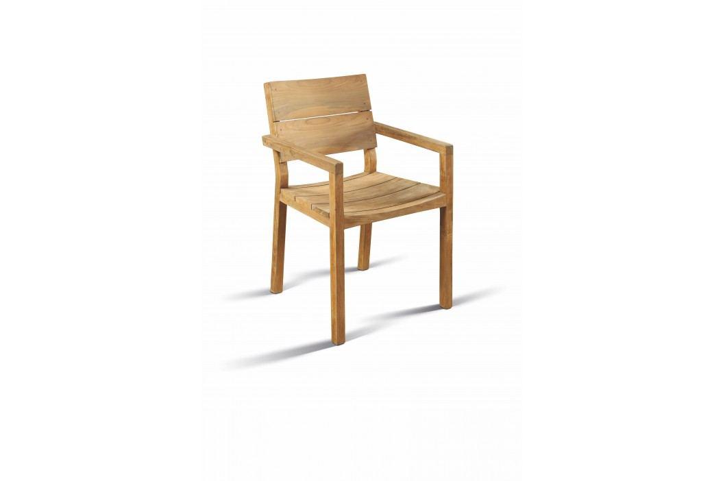 Stuhl Teak Recycelt Landmöbel Tara Teakholz Modern Esszimmerstühle