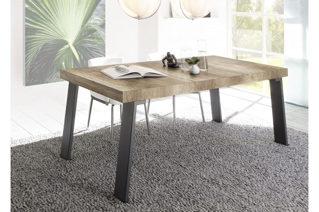 Esstisch 189 X 88 Cm Canyon Oak Nachbildung/ Metallfüsse Classico Palma Holz Modern Esstische
