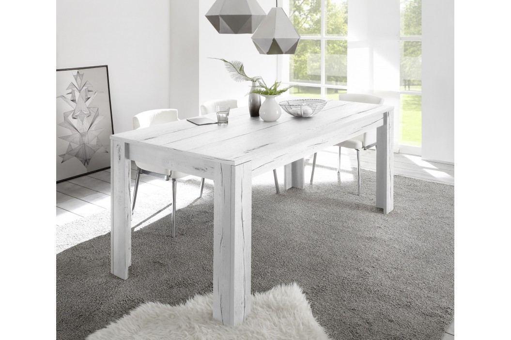 Esstisch 137 X 90 Cm Weisseiche Nachbildung Classico Palma Weißeiche Holz Modern Esstische