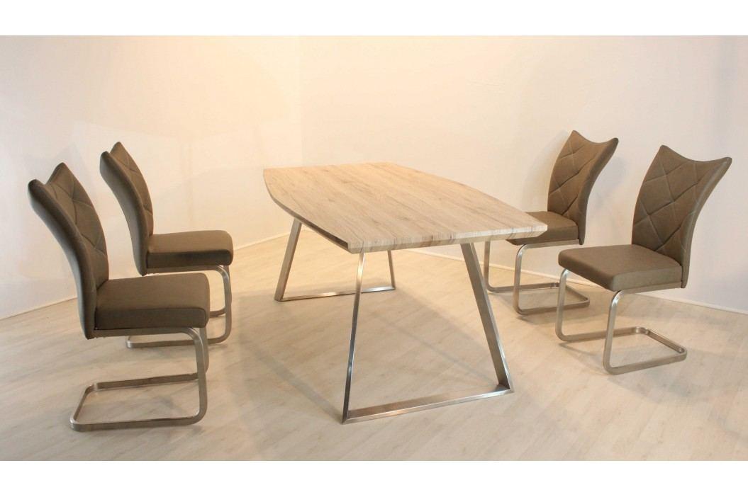 Tischgruppe Canyon Oak/ Cappuccino Top Form Sam/ Sierra Holz Esstische