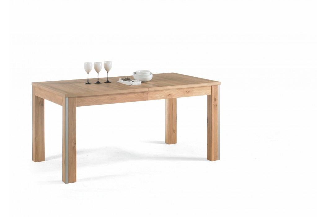 Esstisch 160 - 260 X 90 Cm Asteiche Teilmassiv Mca-Furniture Orepse Furnier Neutral Esstische