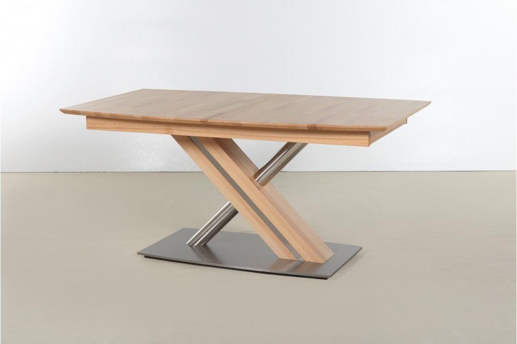 Esstisch / Säulentisch 180 X 90 Cm Ausziehbar Kernbuche Massiv Lackiert Standard Furniture Arte S2 Xl Modern Esstische