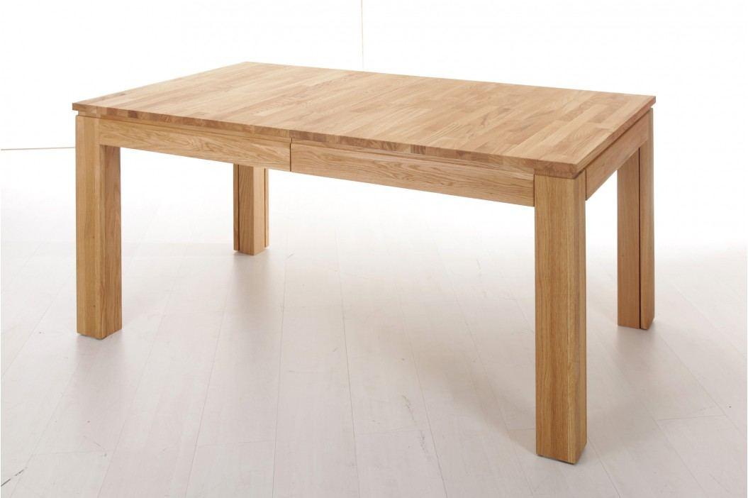 Esstisch 160 X 90 Cm Eiche Natur Lackiert Massiv Ausziehbar Standard Furniture Multi Xl Holz Neutral Esstische