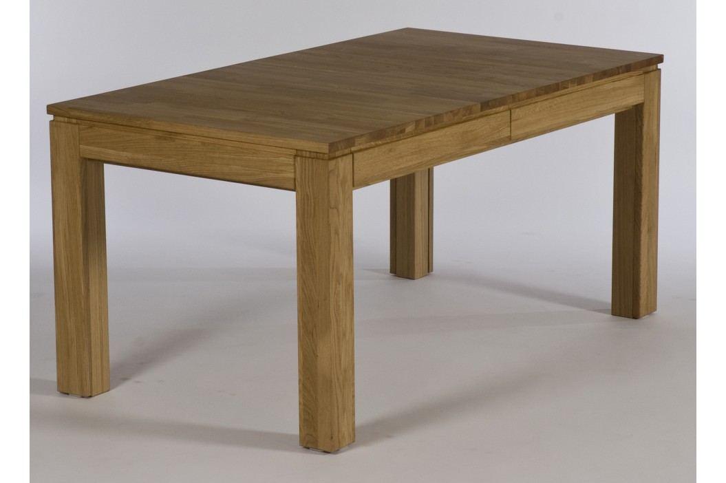 Esstisch 160 X 90 Cm Eiche Natur Geölt Massiv Ausziehbar Standard Furniture Multi Xl Holz Neutral Esstische