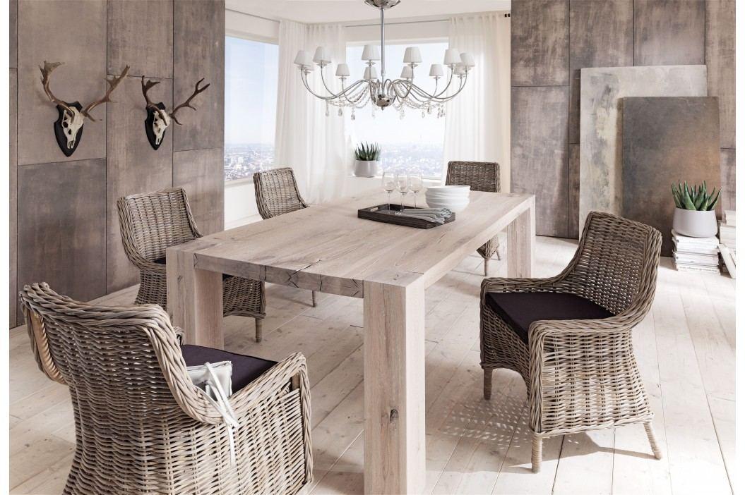Esstisch 200 X 100 Cm Wildeiche White Wash Massiv Dm Möbel Fausto Holz Modern Esstische