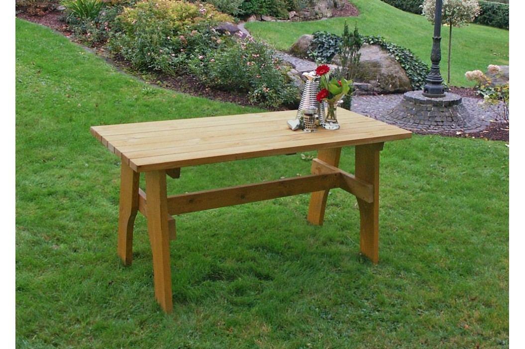 Gartentisch 150 X 70 Cm Kiefer Massiv Frg - Handels Gmbh Freital Holz Neutral Gartentische