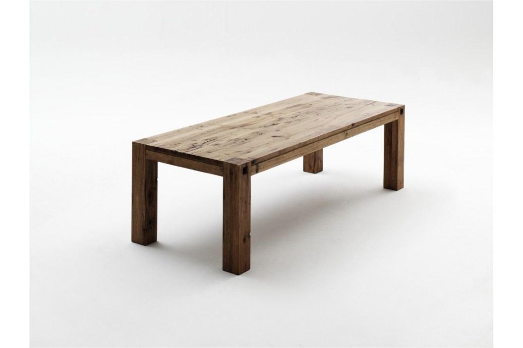 Esstisch 220 X 100 Cm Eiche Massiv Bassano Lackiert Mca-Furniture Deeds Holz Modern Esstische