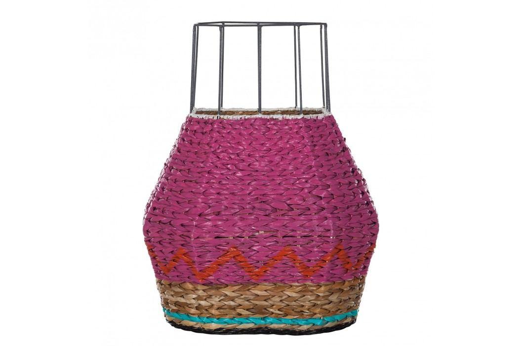 Korb Tarahuma - Seegras - Pink, Eva Padberg Collection Dekokörbe
