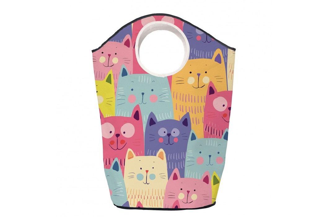 Wäschesammler Cats in Colours - Webstoff - Mehrfarbig, Butter Kings Kleideraufbewahrung