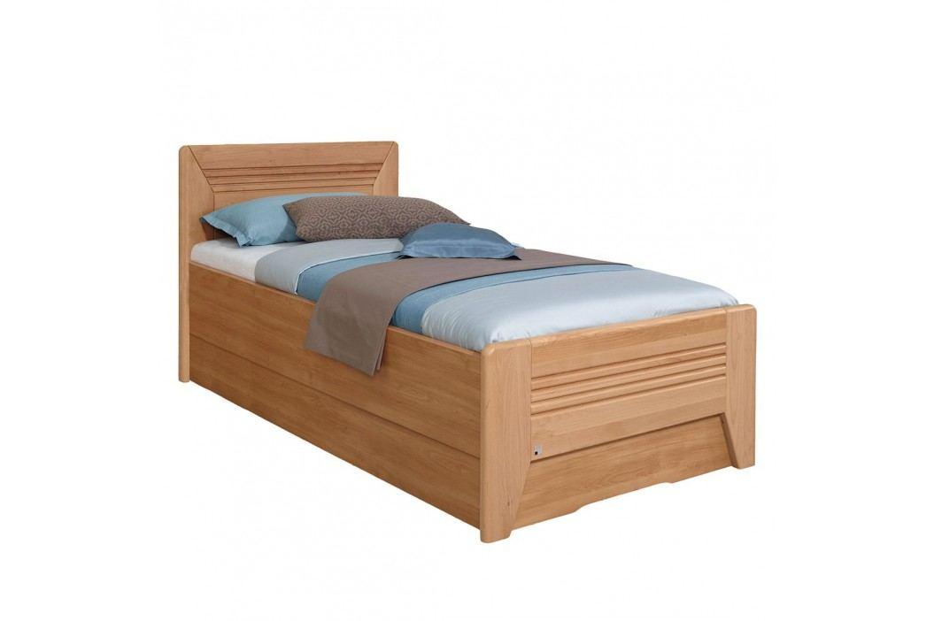 Teilmassives Komfortbett Valerie III - Erle - 100 x 200cm - Kein Bettkasten, Rauch Steffen Kinderzimmermöbel