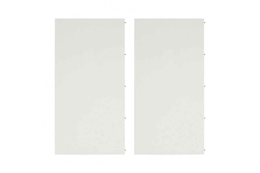 Einlegeplatte Liendo II (2er-Set) - Weiß / Walnuss, Studio Copenhagen Esstische
