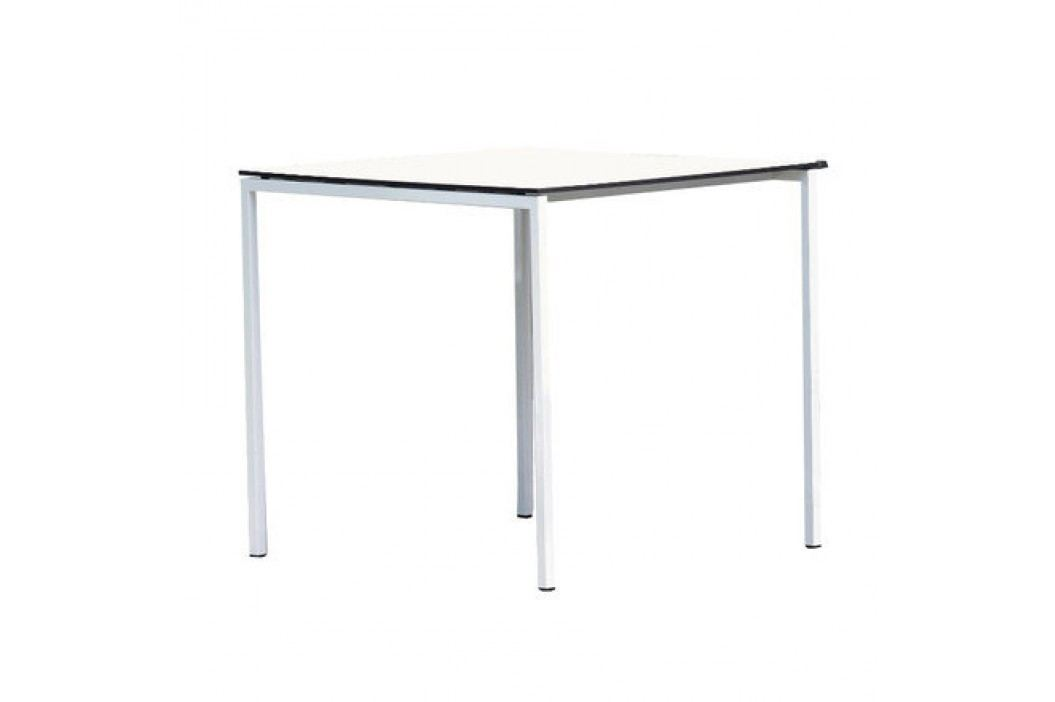 Tisch White 75 cm - weiß/ anthrazit Esstische